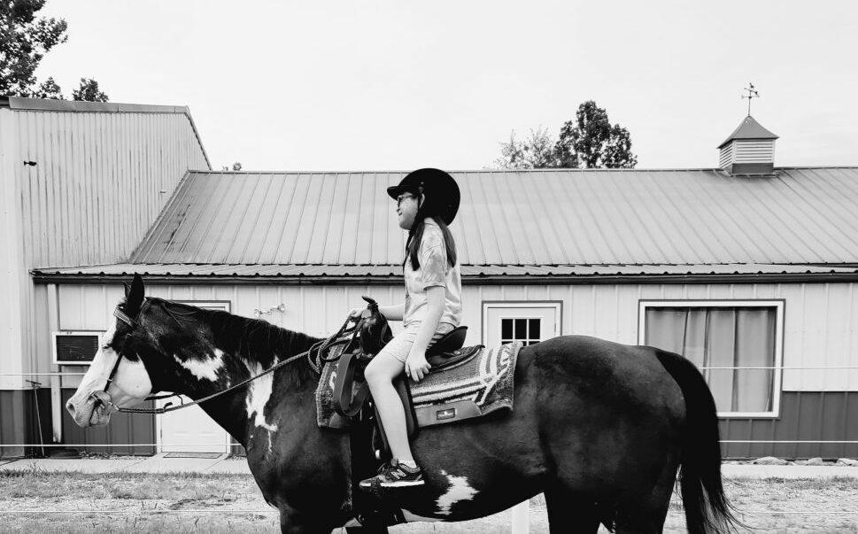 Hope & Her Horse, Diablo
